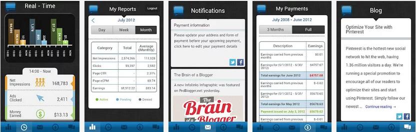 Infolinks App Reports